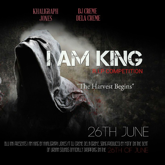 """I AM KING"" Cover art"