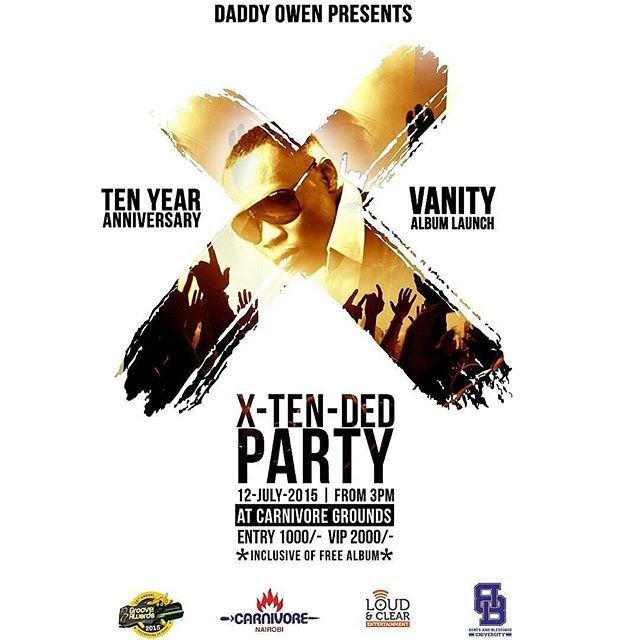 Daddy Owen's Ten Years in the Game Party