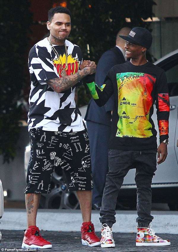 Chris Brown and Wizkid | courtesy