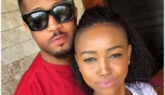 after dissing Vera Sidika, Nigerian Actor Mike Ezuruonye caught out cozying up with Huddah Monroe(photos)