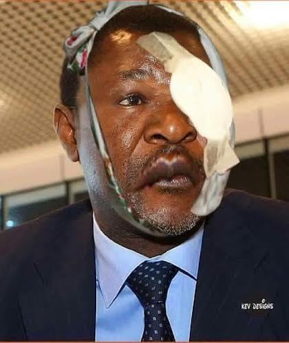 Moses Wetangula Photoshoped