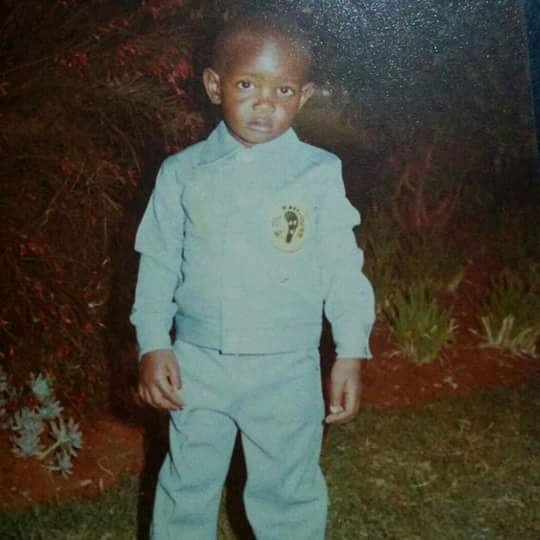 Young David 'Nameless' Mathege