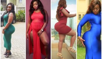 eye candy: model Risper Faith and her country of thayos and derriere