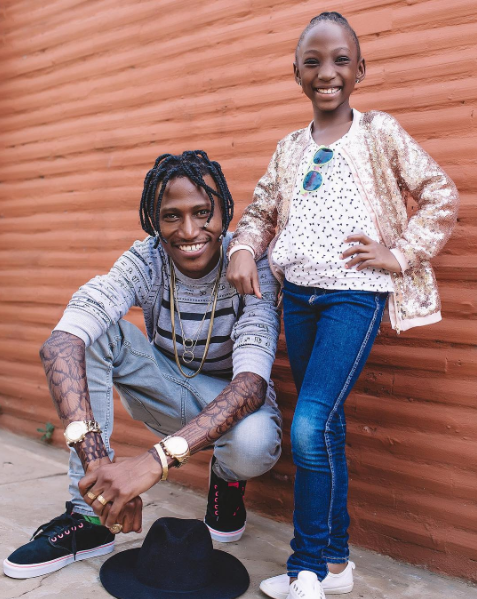 Image result for Octopizzo and daughter