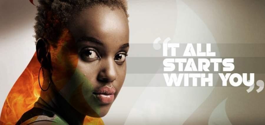 Olive Karmen's poster for the Blaze campaign | courtesy