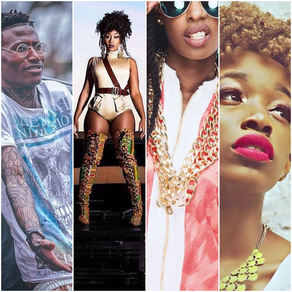 Octopizzo, Victoria Kimani, Wangechi and Phy both have albums and EP released recently