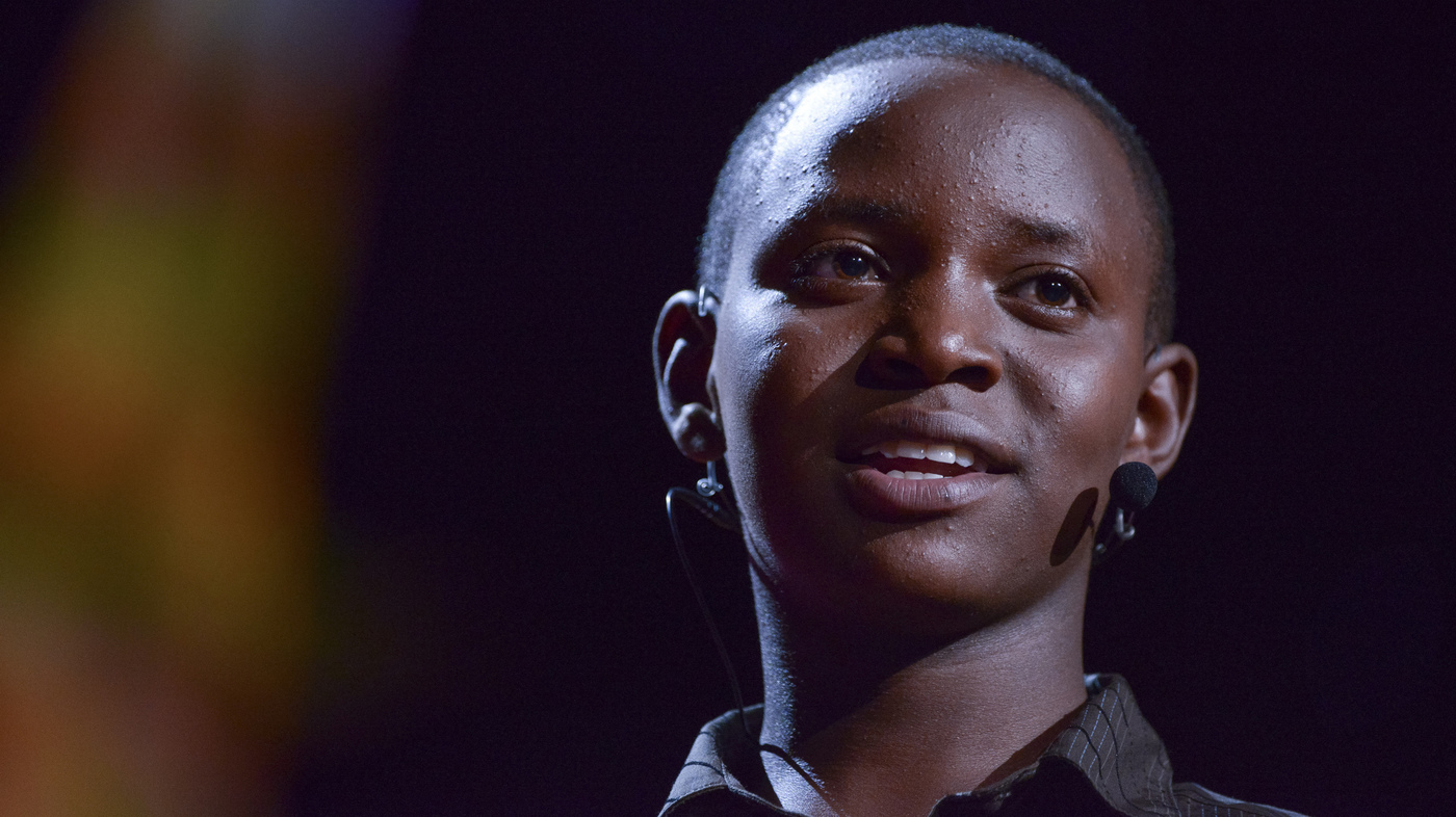 Richard Turere speaks at the TED2013 conference in Long Beach, Calif. With a simple invention, the Kenyan teen figured out a way to keep cows and their predators safe. | TED