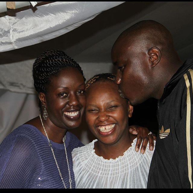 From Left to right: Rosemary Odinga, Carol Radull and Fidel Odinga   Instagram
