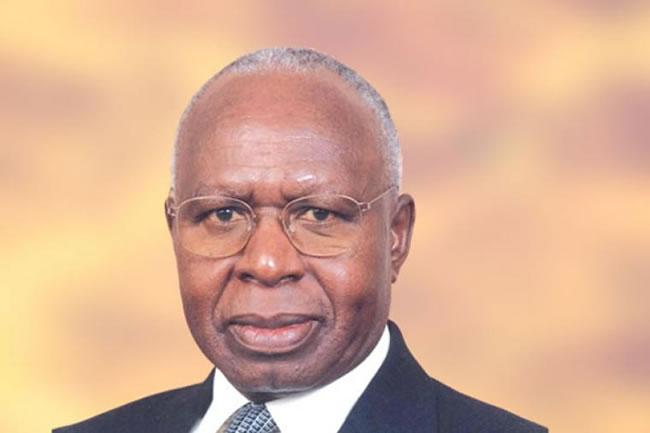 Simeon Nyachae | Courtesy