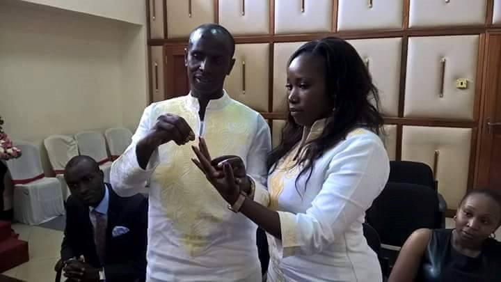 Wilson Sossion and Vivian Kenduywa | courtesy