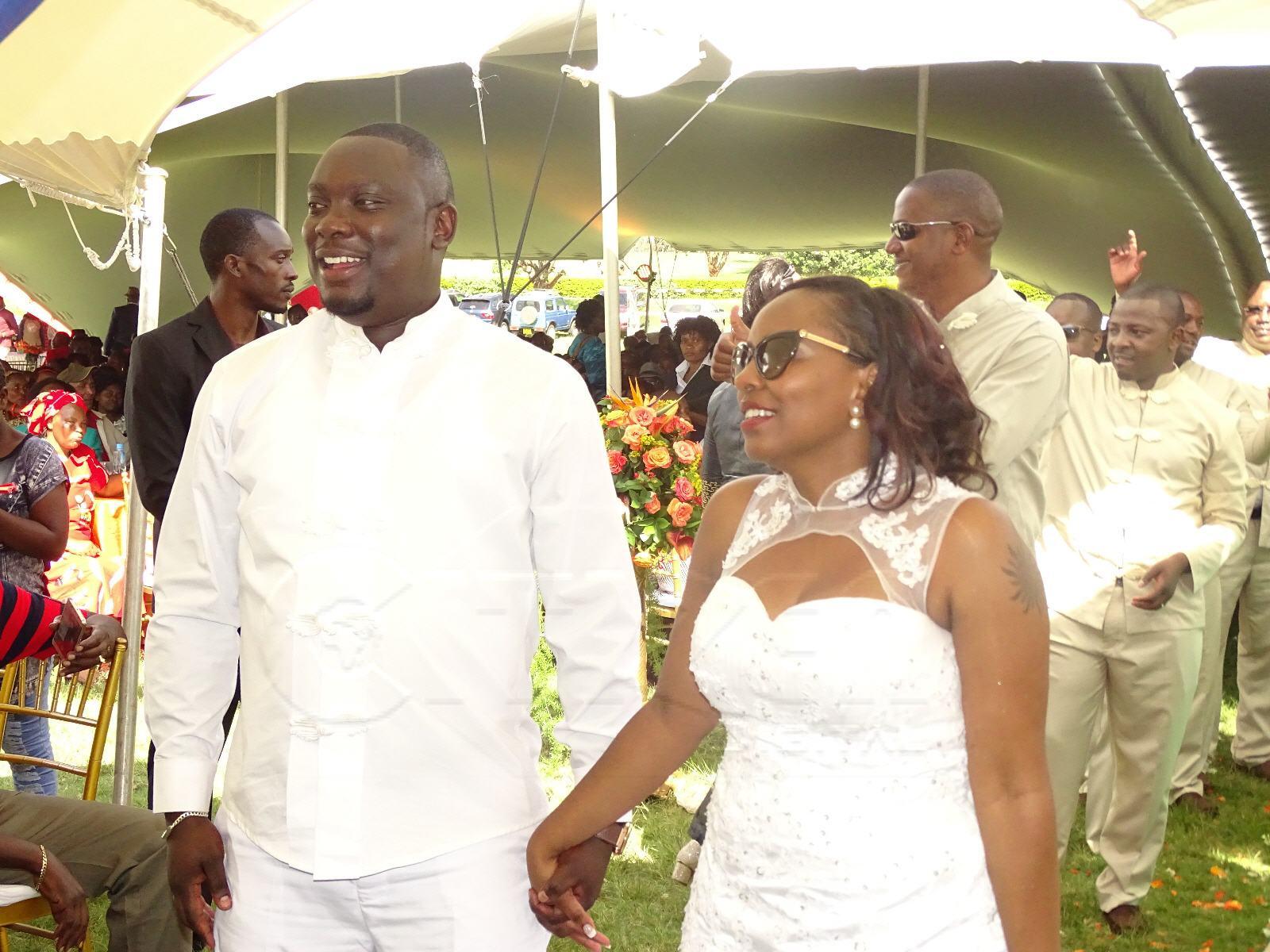 Michael Njenga and Phoebe Wanjiku | Instagram