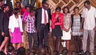 Photos of DP Ruto children after acknowledging 11 year Abby Ruto is his child with Prisca Bett