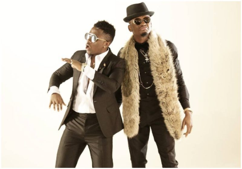 Diamond Platnumz and Rayvanny in an official look