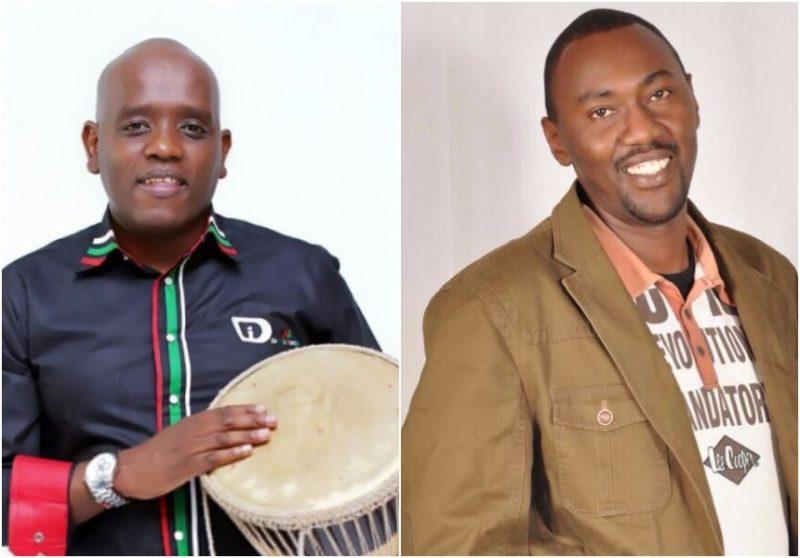 Dennis Itumbi and Rapcha Sayantist