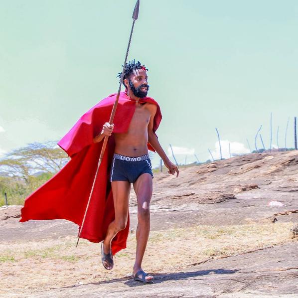 Eric Omondi as King Leonidas