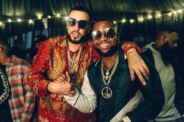 French Montana with Cassper Nyovest ciroc party