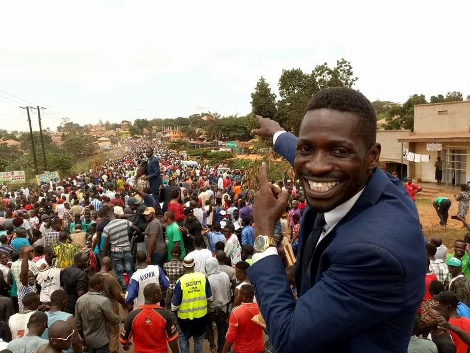 Bobi Wine shown massive love by Ugandans
