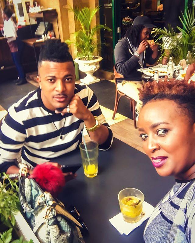 Ann Karis Gucci with Nairobi Diaries' actor Luwi Capello on a date