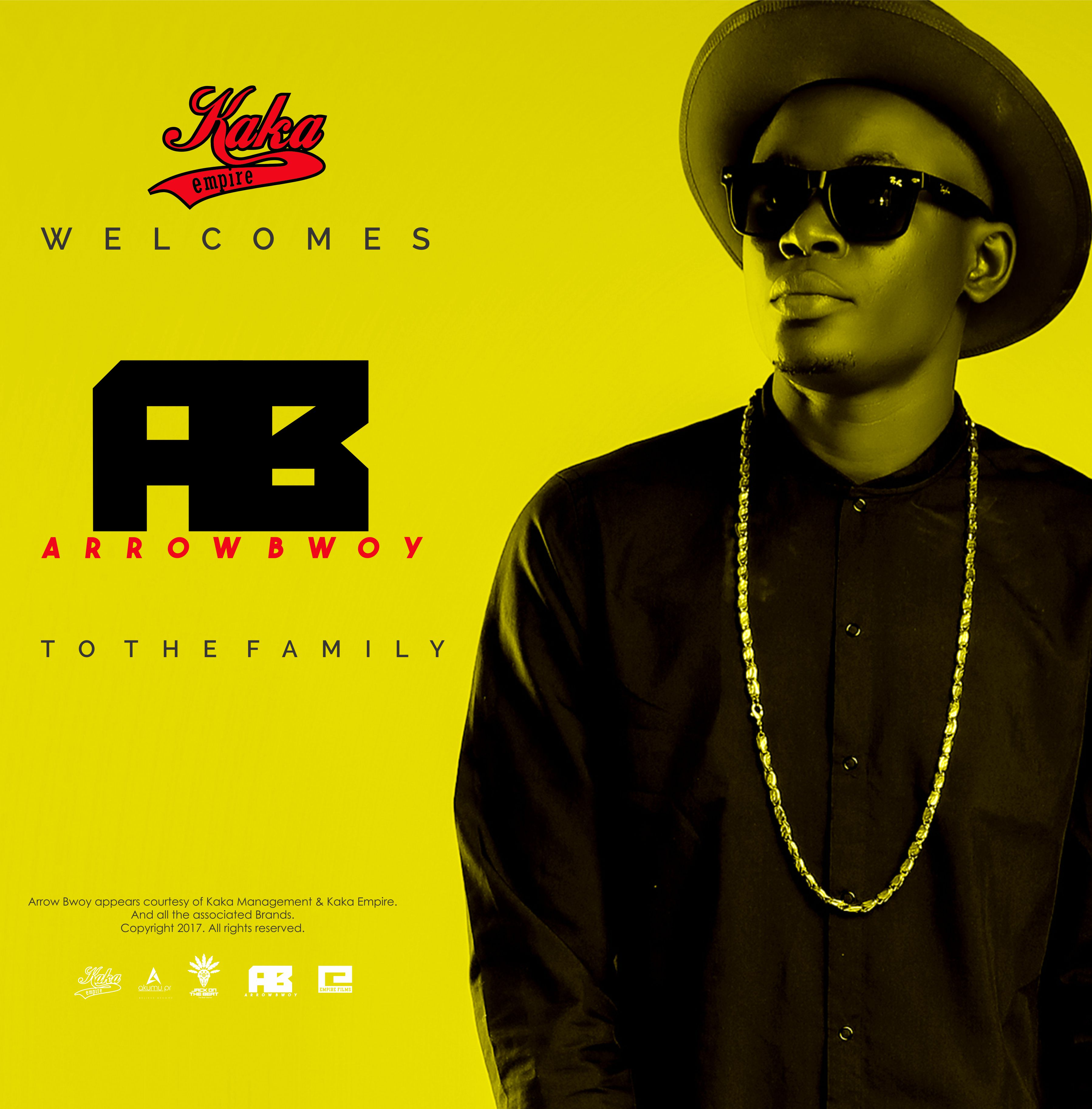 Arrow Bwoy Welcome Poster