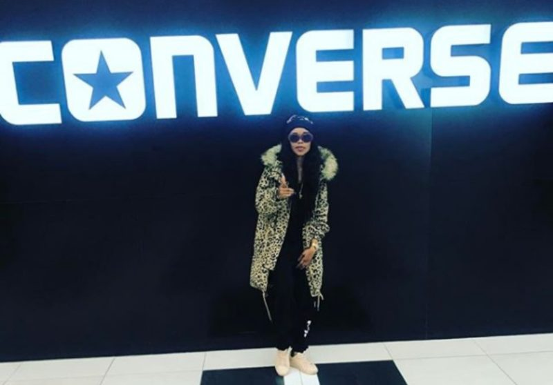 Fifi Cooper in Converse South Africa offices
