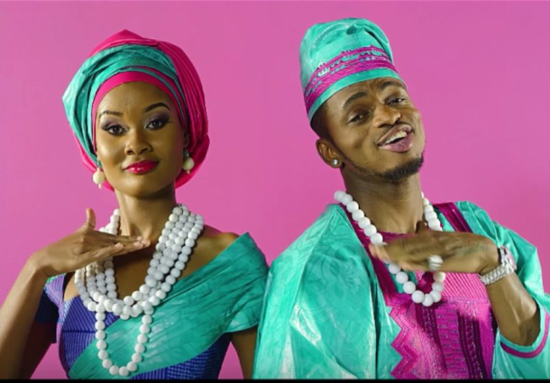Hamisa Mobeto with Diamond Platnumz