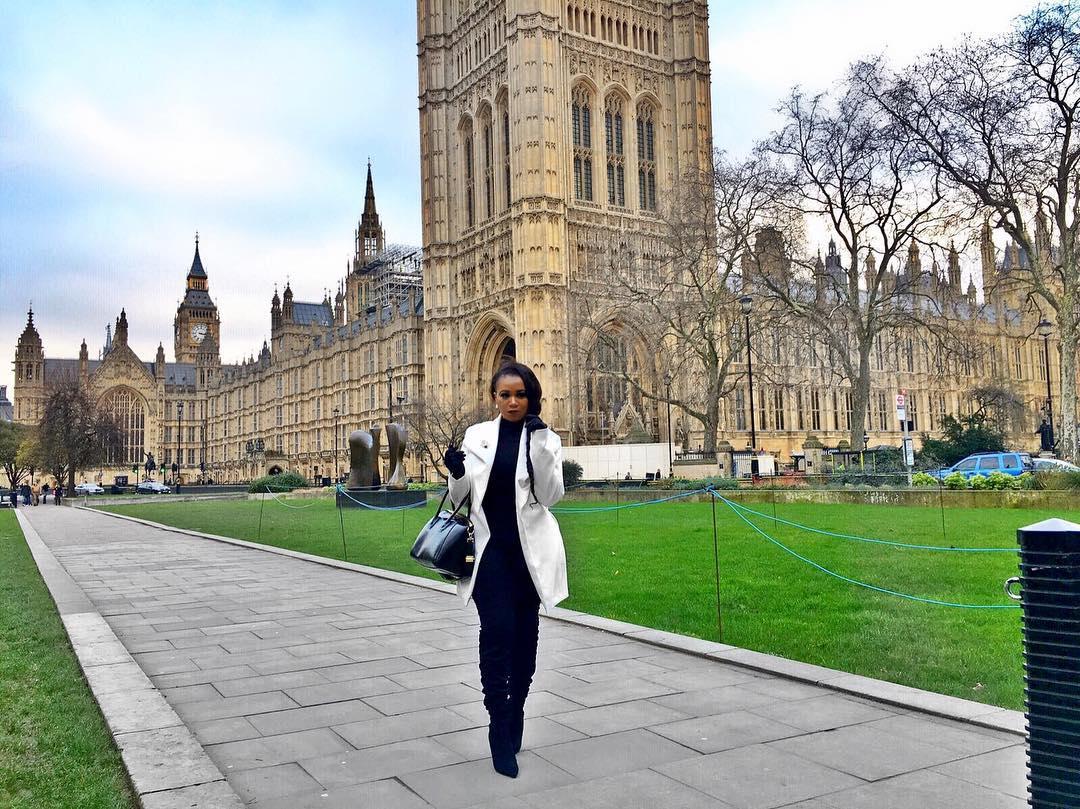 Vera Sidika killing that official look Still London