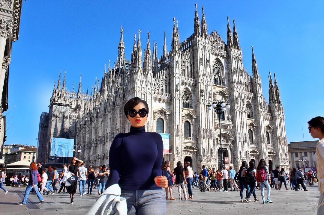 Vera Sidika In Milan