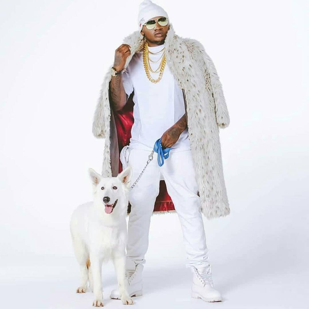 Khaligraph Jones in all white apparel/ Photo credit: Instagram/khaligraph_jones