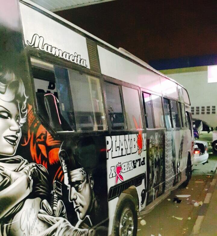 Mamacita/Playboy matatu. photo credit: Matwana Matatu Culture