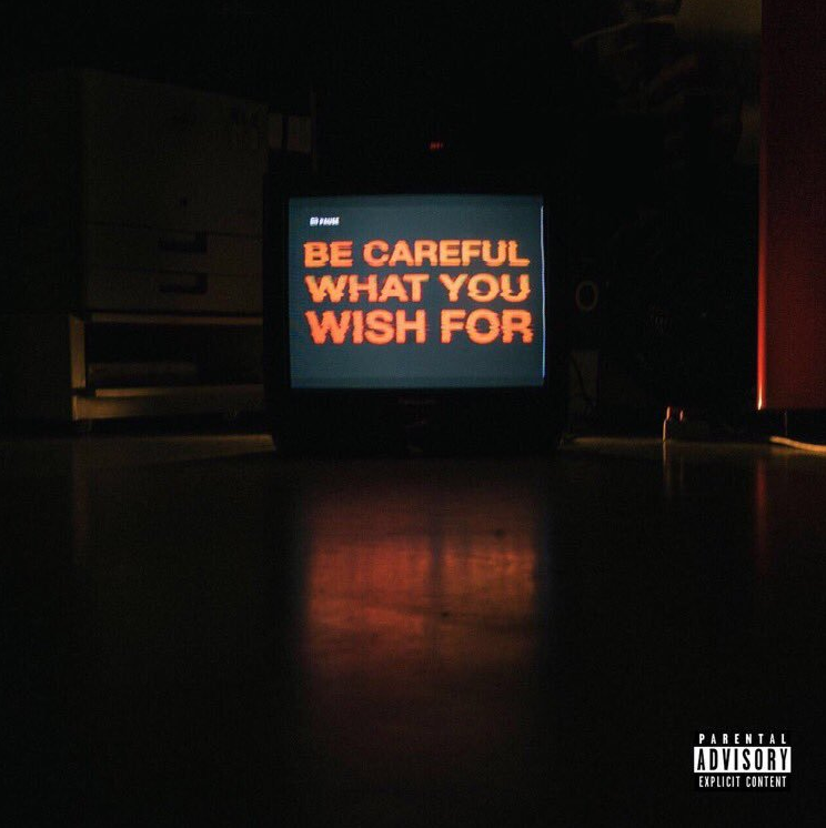 Be careful what you wish from album cover