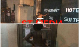 Drama at Covenant Hotel and Suit as woman goes mad after marathon romp with married man (+18 photos)