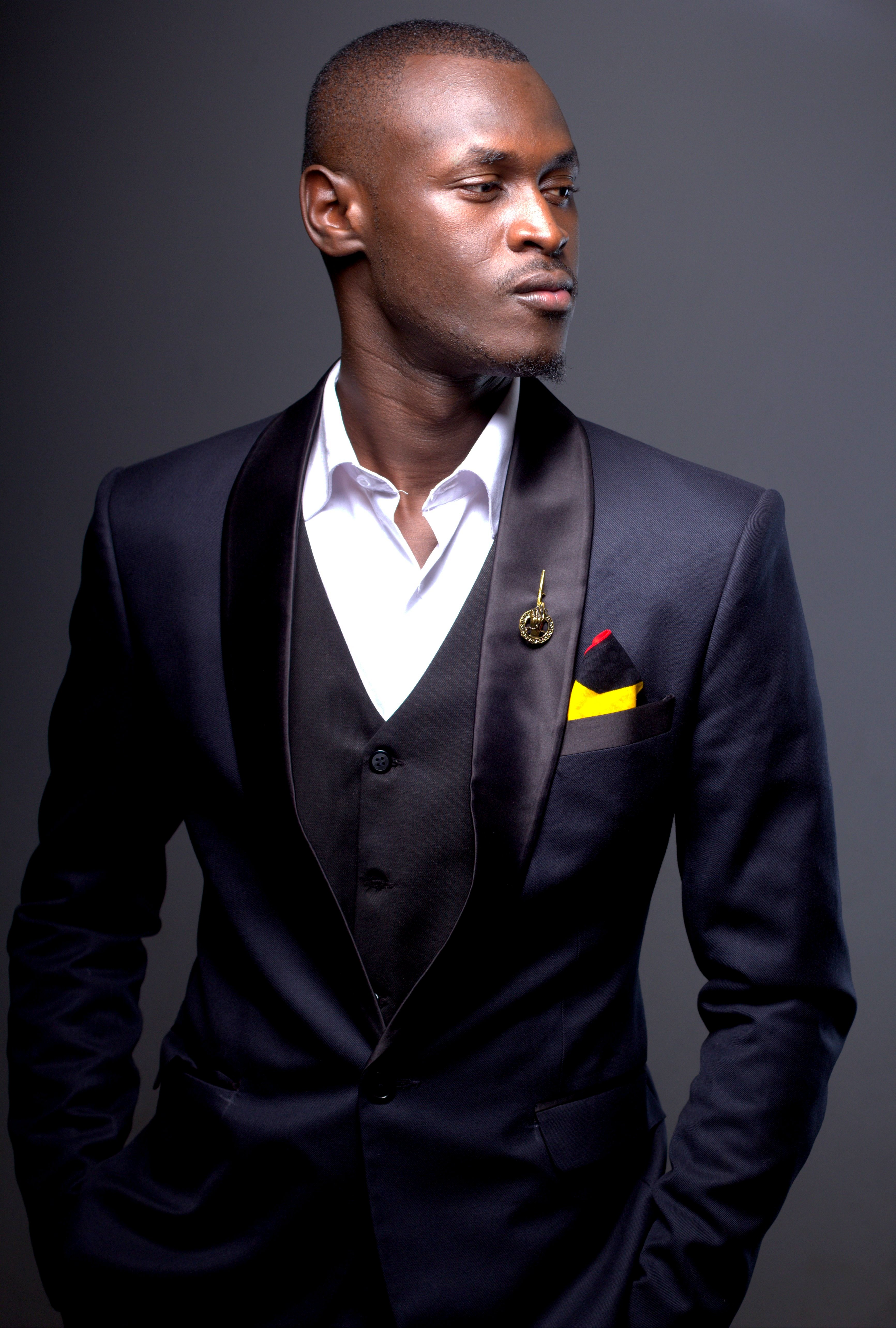 King Kaka in a nice suit