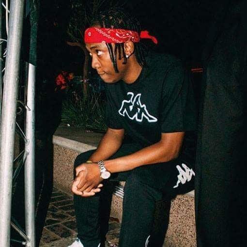 Frank Casino wearing aKappa t-shirt and training pants. photo credit: Instagram/frankcasino