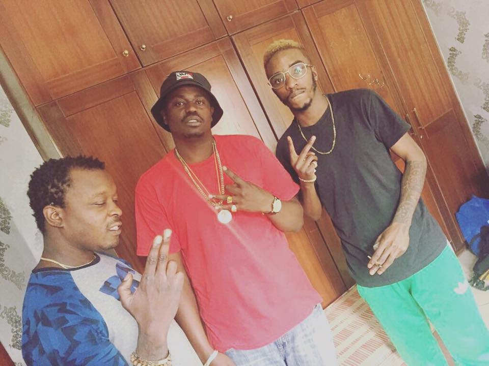 From left to right: Attitude, Lon Jon and Shappaman. photo credit: Instgram/lonjonofficial