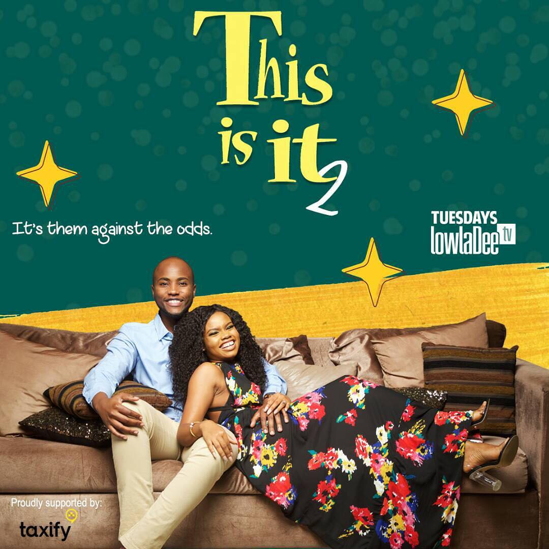 Nick Mutuma on poster for this is it