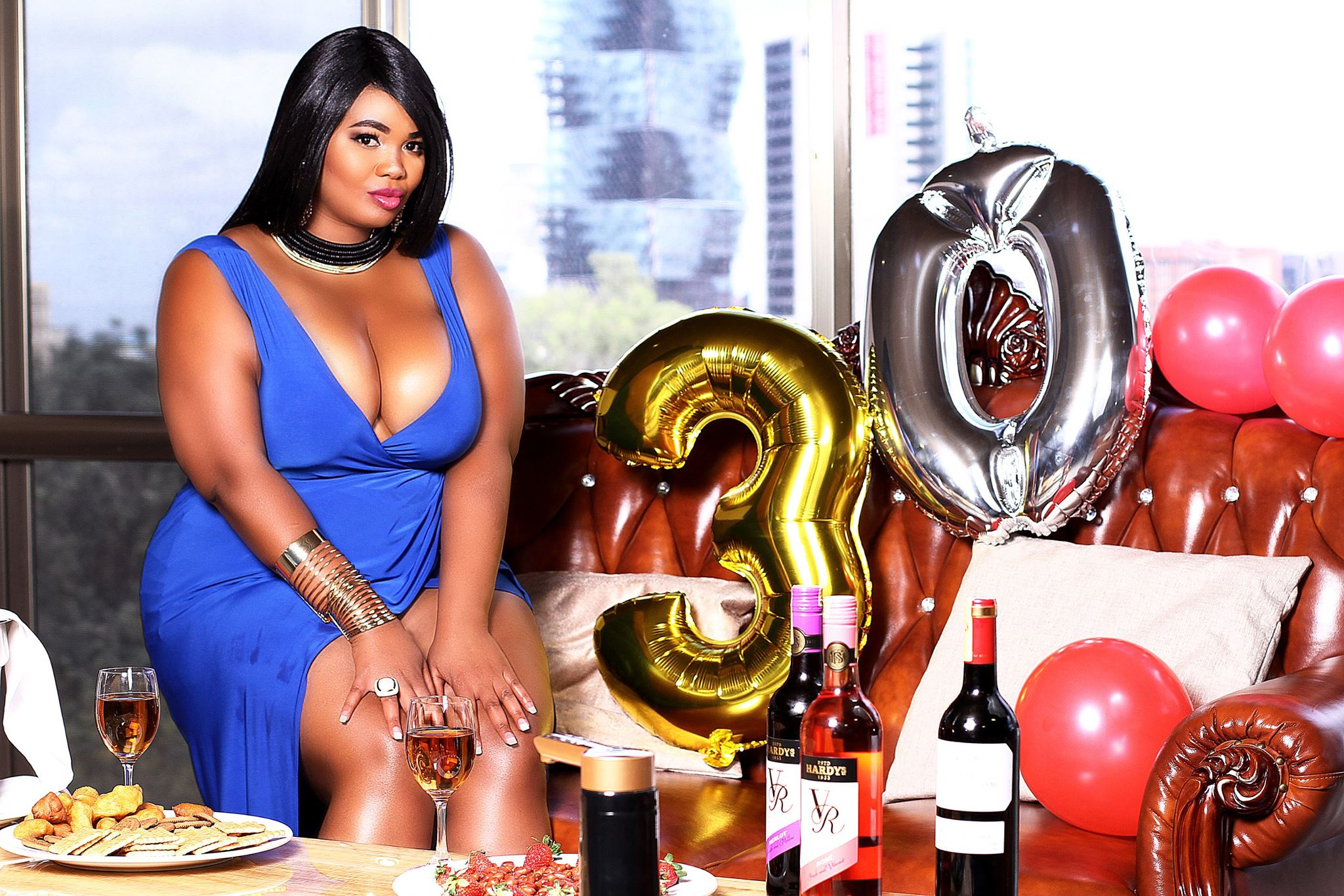 Neomi Nganga celebrating her 30th birthday in Bangkok, Thailand. photo credit: Instagram/neominganga