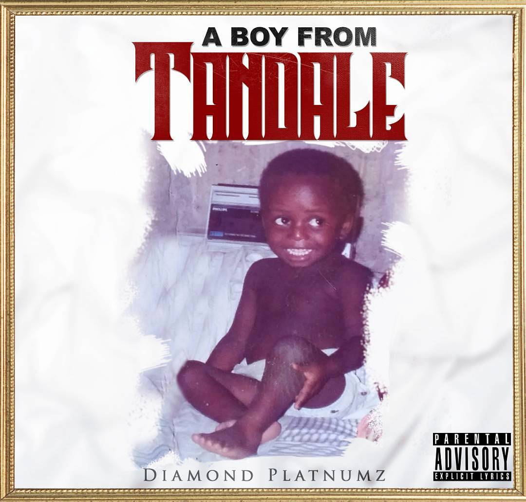 Diamond Platnumz's 'A Boy From Tandale' album cover. photo credit: Instagram/diamondplatnumz