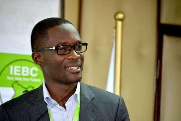 IEBC Chief Electoral Officer (CEO) Ezra Chiloba