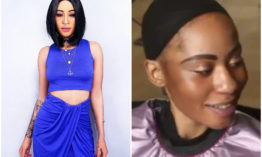 Makeup Vs no makeup! Noti Flow's makeup free photos leaves Kenyans in stitches