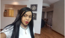 Size 8 takes a swipe at killer cop Hessy