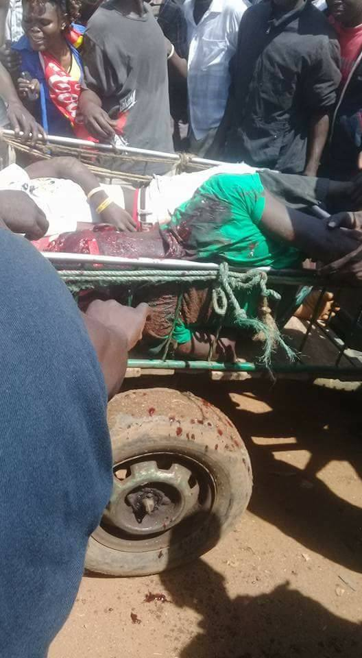 Bodies of Nasa protestors shot in Bondo are ferried to the mortuary