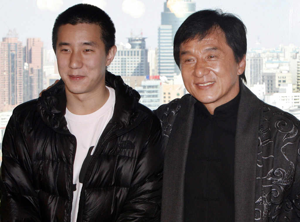 Jackie Chan with his son Jaycee Chan
