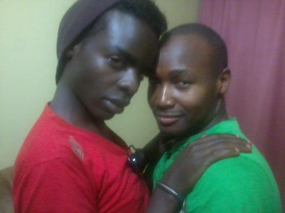 Joji Baro with his lover