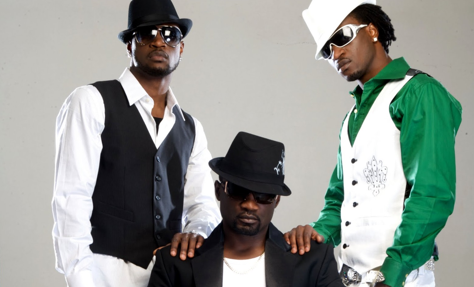 P-square brothers posong