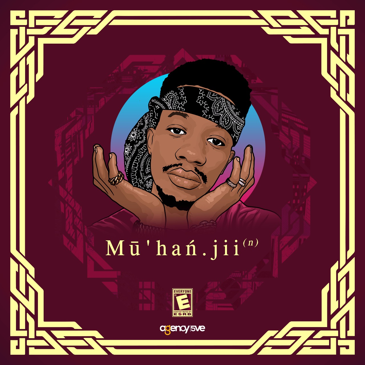 Muhanjii's cover fro his self titled EP. photo credit: courtesy