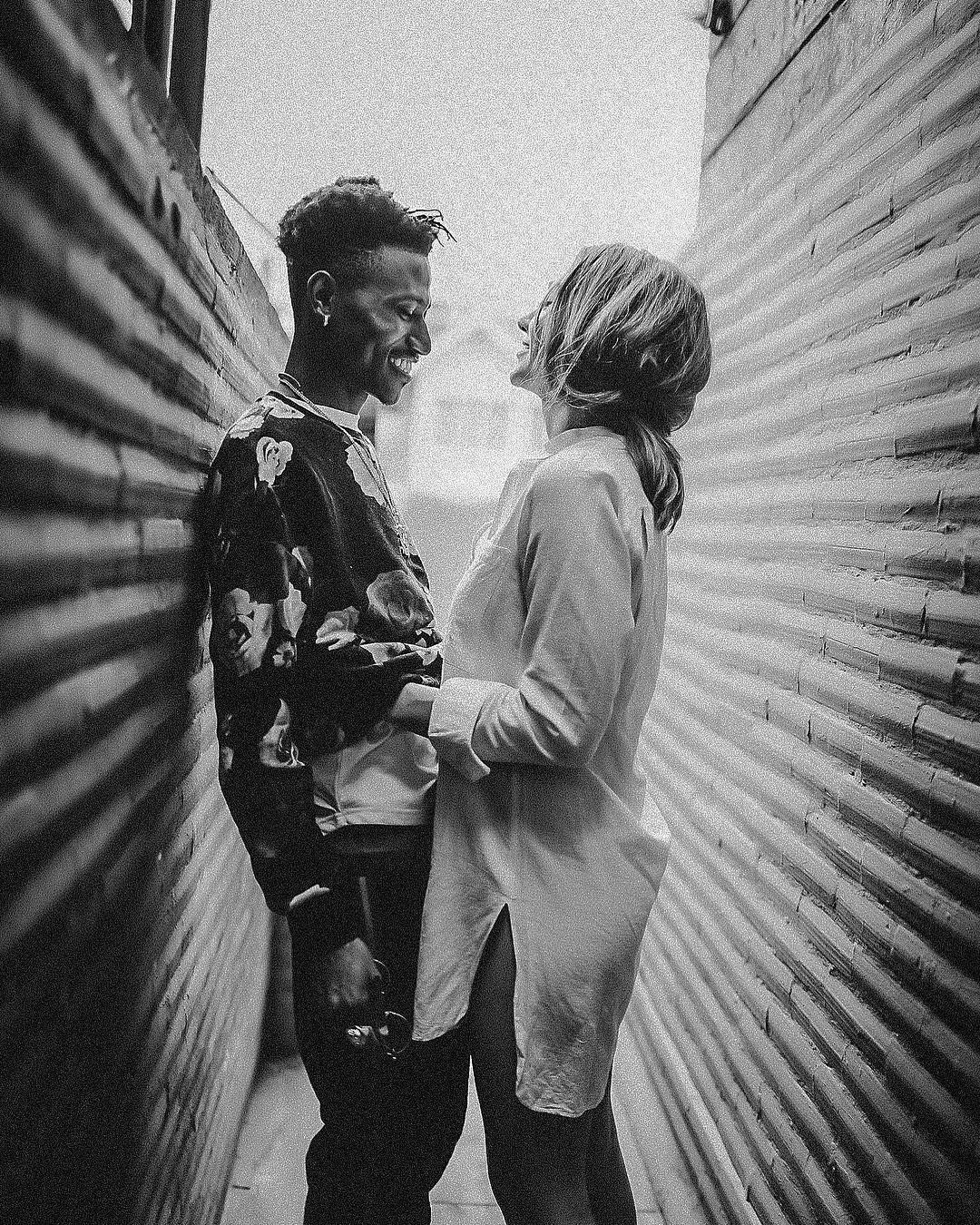 Octopizzo with his fiance having a light moment. photo credit: Instagram/octopizzo