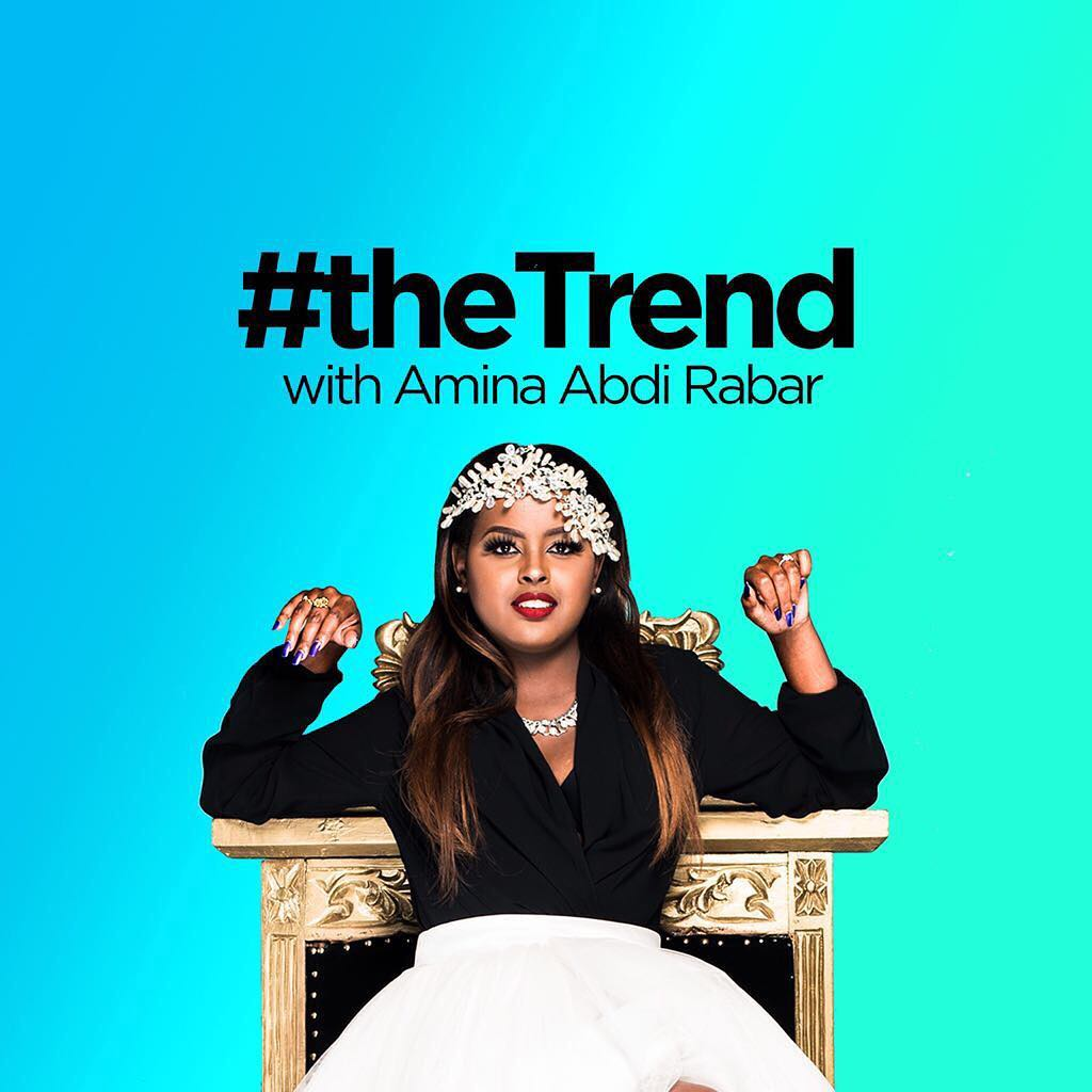Amina Abdi Rabar on the trend cover