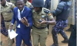 Bobi Wine pleads with artists after police stormed his concert midway and whisked him away