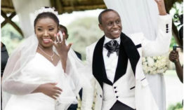 Photos of Catherine Kamau and Phil Karanja's wedding at Windsor Golf Club