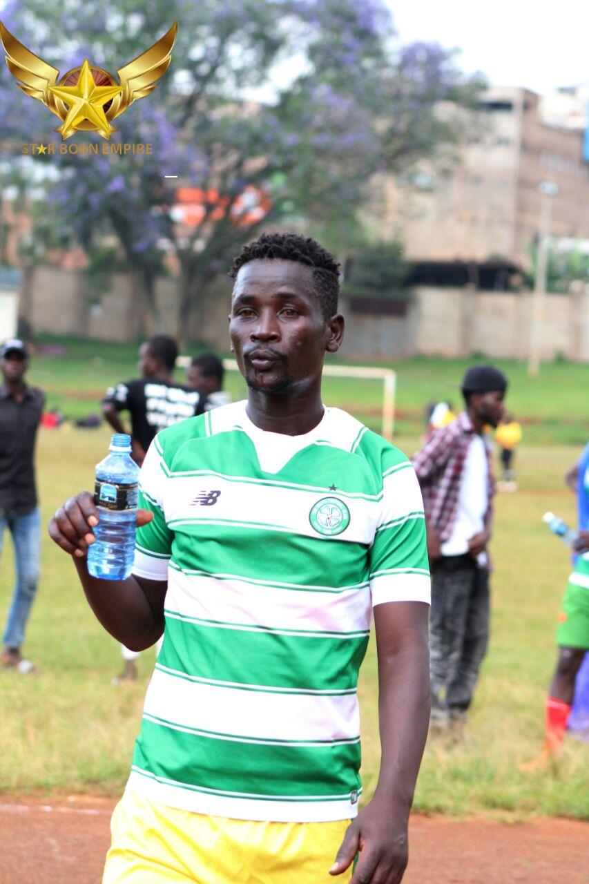 Team Captain Duke Abuga